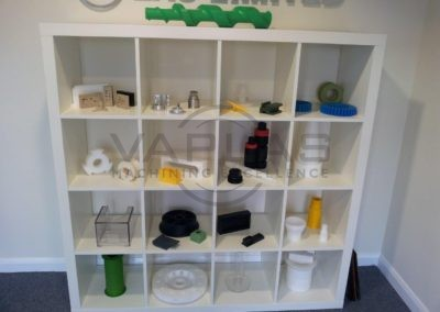 Display of Plastic Parts
