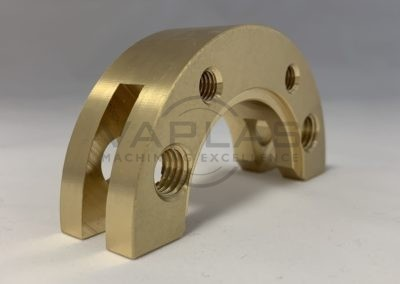Brass Milled Part